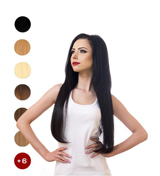Индийска коса на треса 55см. 50гр.
