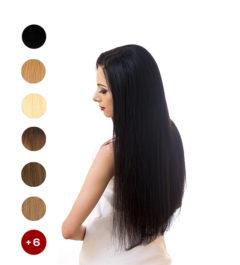 Индийска коса на треса 70см. 100гр.