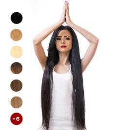 Индийска коса на треса 70см. 200гр.