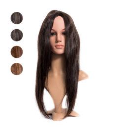 Перука от индийска естествена коса 50см.
